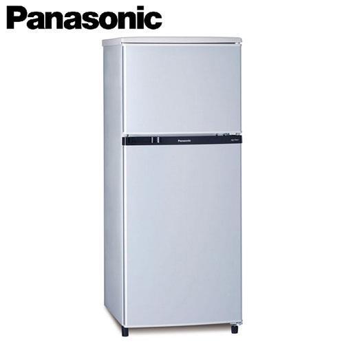 Panasonic國際130公升雙門電冰箱 NR-B138T-SL