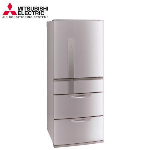 MITSUBISHI 三菱635公升變頻六門電冰箱 MR-JX64W (N)粉鑽銀