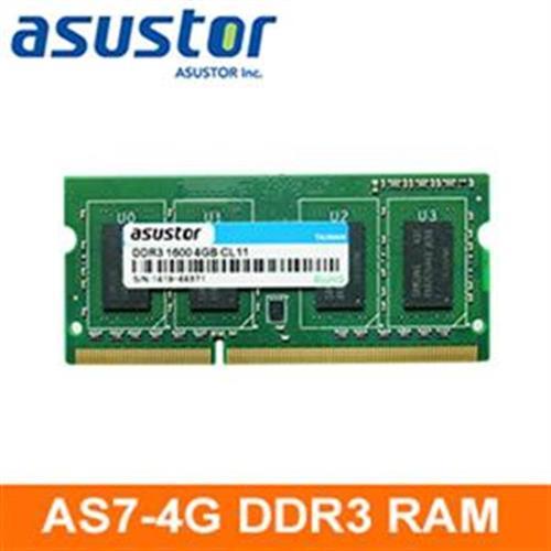 ASUSTOR華芸 (AS7-RAM4G)4GB擴充記憶體