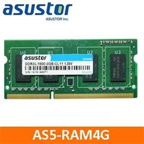 ASUSTOR華芸(AS5-RAM4G)4GB擴充記憶體