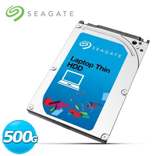 Seagate 希捷 Laptop 2.5吋 500G 筆電用內接硬碟