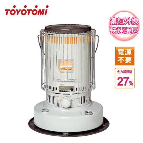 ◤日本製◢TOYOTOMI【6.3公升】傳統型煤油爐_8-12坪適用 (KS-67H)