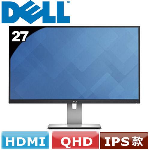 R1【福利品】DELL 戴爾 U2715H 27型 IPS LED寬螢