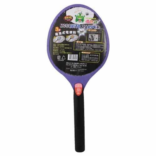 【出清特賣】憤怒蛙 ZYEM203/ZY-EM203 三層電池式捕蚊拍【出清特賣↘限量2支】