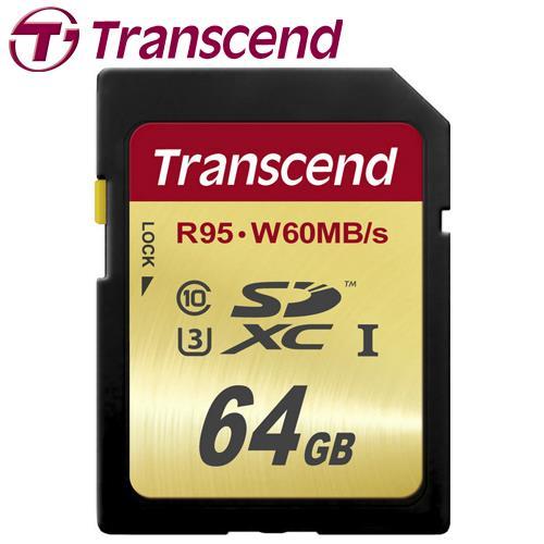 Transcend 創見 64GB SDXC UHS-I U3 記憶卡