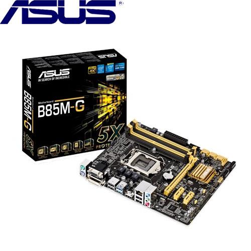 【福】ASUS華碩 B85M-G 主機板