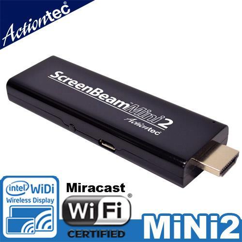 Actiontec ScreenBeam Mini 2 WiDi/Mir無線顯示接收器
