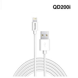 BenQ QD200i MFi 蘋果認證Lightning充電傳輸 2M