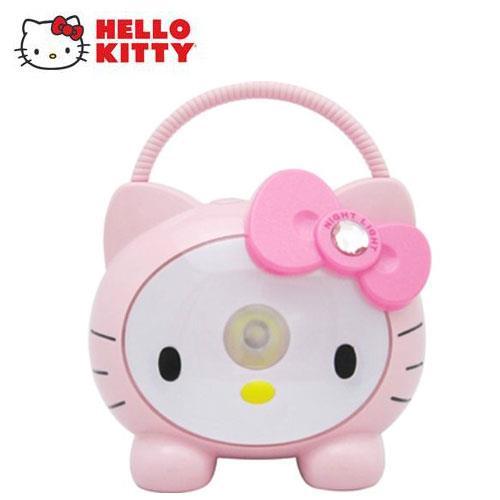 Hello Kitty 多功能高亮度 LED 戶外燈- 淑女珍珠粉