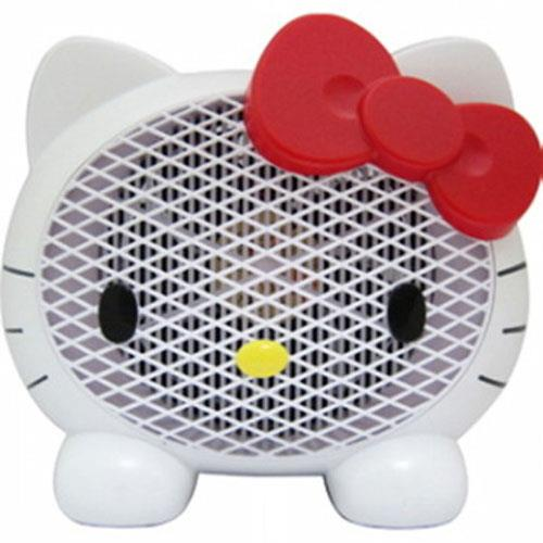 HELLO KITTY經典頭形UV紫外線多功能捕蚊器(珍珠白)