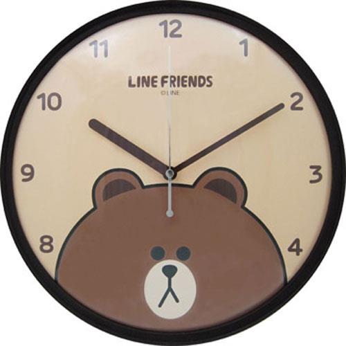 LINE FRIENDS 熊大個性掃秒掛鐘