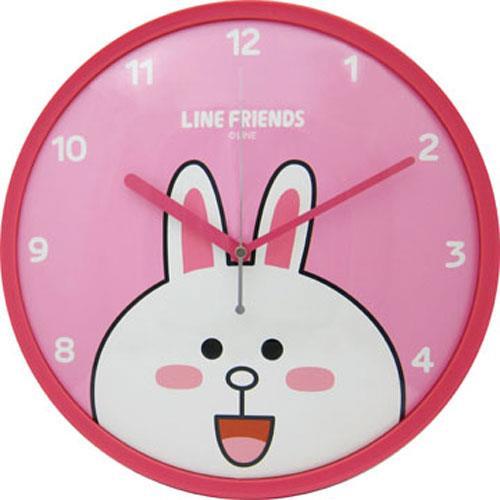 【網購獨享優惠】LINE FRIENDS 兔兔個性掃秒掛鐘
