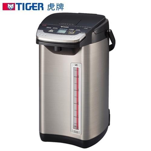 TIGER虎牌【5公升】蒸氣不外漏VE真空電動電熱水瓶 PIE-A50R