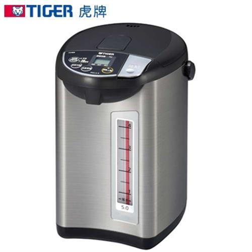 TIGER虎牌【5.0L】微電腦大按鈕熱水瓶 PDU-A50R (日本原裝)