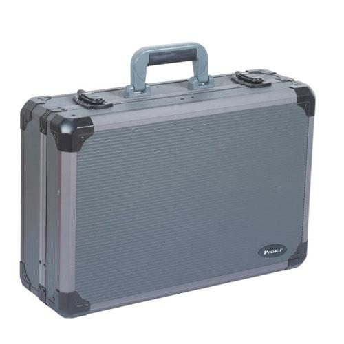 【網購獨享優惠】Pro'sKit 銀灰重型鋁質工具箱TC-736