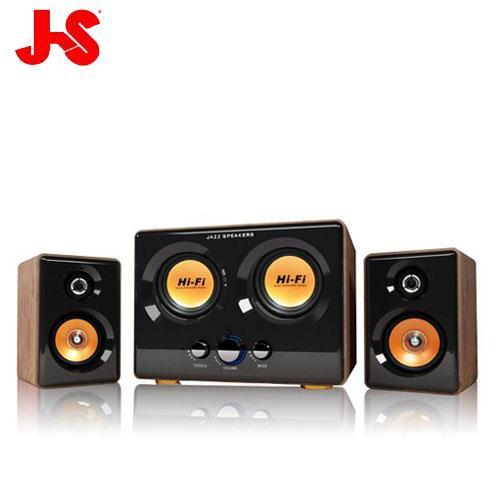 【網購獨享優惠】JS淇譽 JY3241 2.2聲道震天雷多媒體喇叭 (總功率:54瓦)