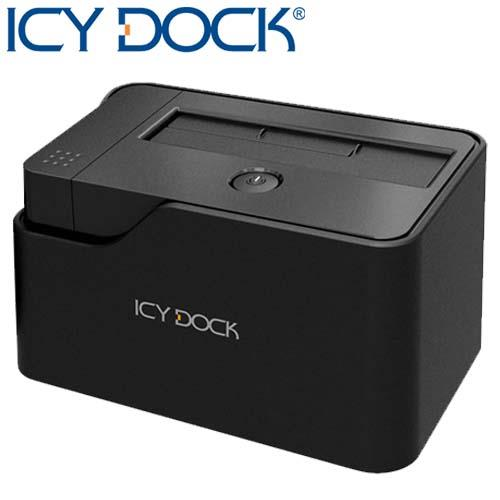 ICY DOCK 2.5/3.5吋SATA超速USB3.0外接轉接座-MB981U3-1S