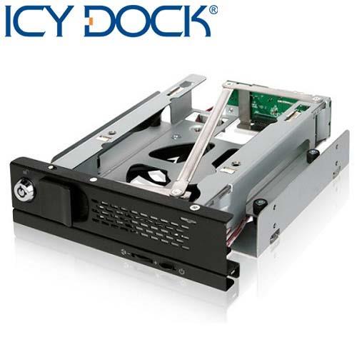 "ICY DOCK TurboSwap 無抽取盤 3.5"" SATA 硬碟抽取盒-MB171SP-B"