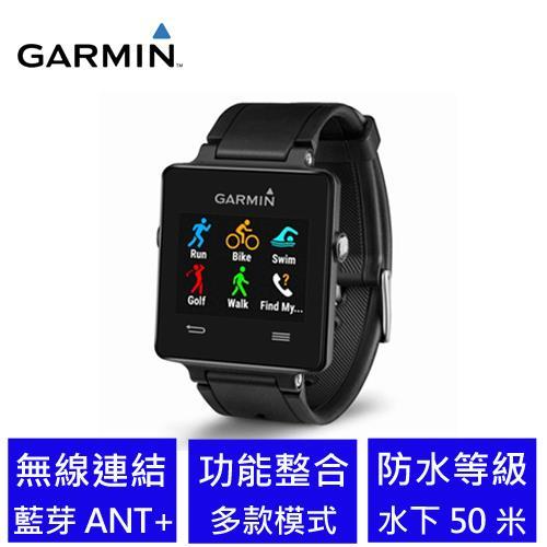 【限時搶購】GARMIN vivoactive GPS 智慧運動手錶 黑
