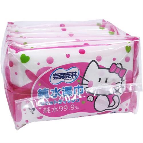奈森克林 純水濕巾 (10張X6入)X10組