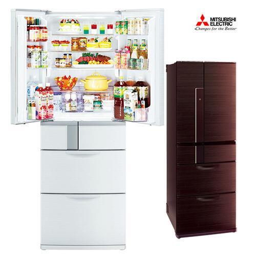 MITSUBISHI三菱525L日本原裝變頻六門電冰箱MR-JX53X-BR(閃耀棕)