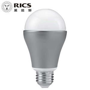 【3顆超值組】RICS 麗酷獅 7.5W 高效節能 LED燈泡 白光