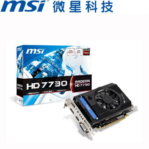 MSI微星 R7730-1GD5V1 顯示卡