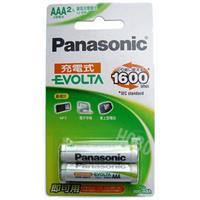 Panasonic 國際牌 EVOLTA 4號800mAh低自放鎳氫充電池 2入
