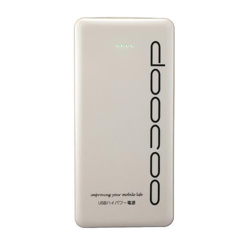 doocoo it 3A 15000+ 行動電源 (最新2015版) - 白色