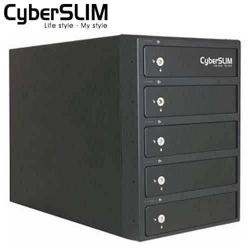 【網購獨享優惠】CyberSLIM S85-U3S 3.5吋 5Bay 磁碟陣列外接盒
