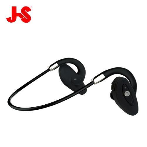 JS HMH036 運動型防水 藍牙無線 耳機麥克風 黑