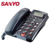SANYO 三洋 全免持對講來電顯示有線電話 TEL-011 黑