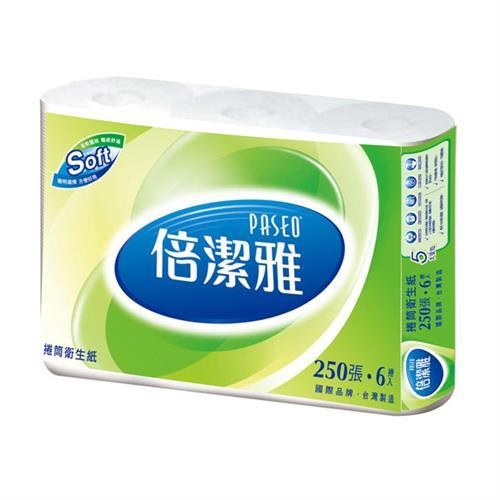 【量販組】PASEO倍潔雅 小捲筒衛生紙 250節x96捲/箱