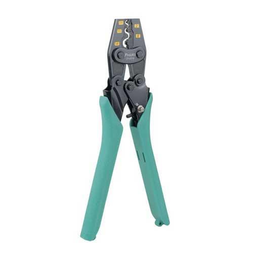 Pro'sKit  Y.O裸端子棘輪壓著鉗1.25/~14mm2 CP-251B