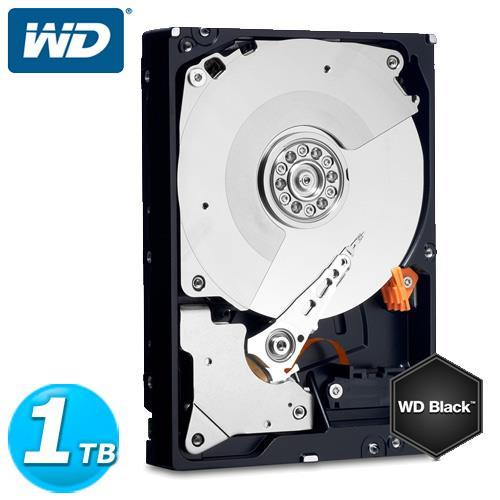 WD 黑標 3.5吋 1TB SATA3 內接硬碟 1003FZEX【好禮多選1】