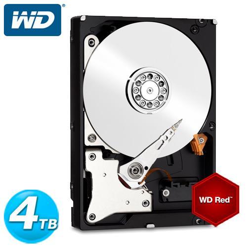 WD 紅標 3.5吋 4TB SATA3 NAS專用內接硬碟 40EFRX