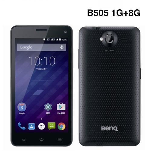 【福利品】BenQ B505 雙卡雙待智慧型手機 雅痞黑