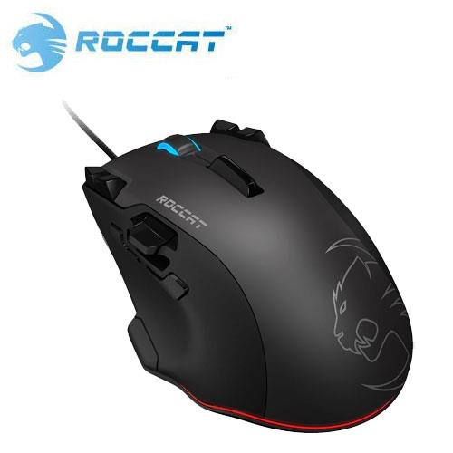 ROCCAT 冰豹 Tyon 雷射電競滑鼠 黑