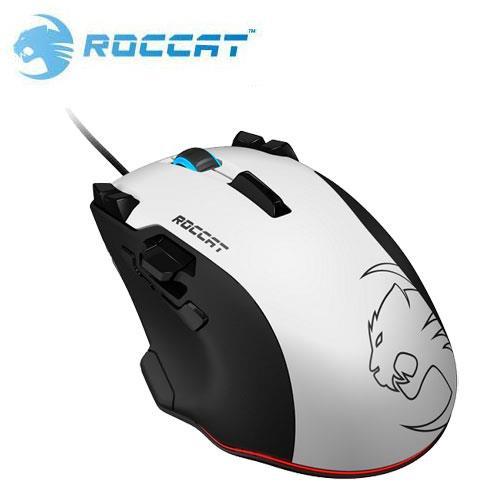 ROCCAT 冰豹 Tyon 雷射電競滑鼠 白