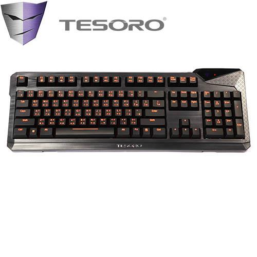 TESORO Durandal Ultimate杜蘭朵劍終極版鍵盤 青軸中文