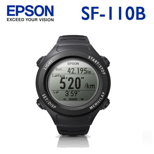 EPSON SF-110B Runsense 路跑教練-星夜黑