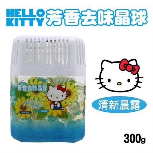 Hello Kitty 芳香去味晶球 (清新晨露) 300gX6瓶