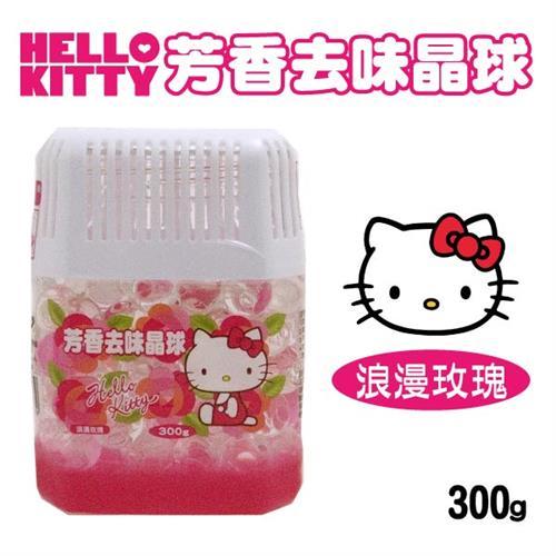 Hello Kitty 芳香去味晶球 (浪漫玫瑰) 300gX6瓶