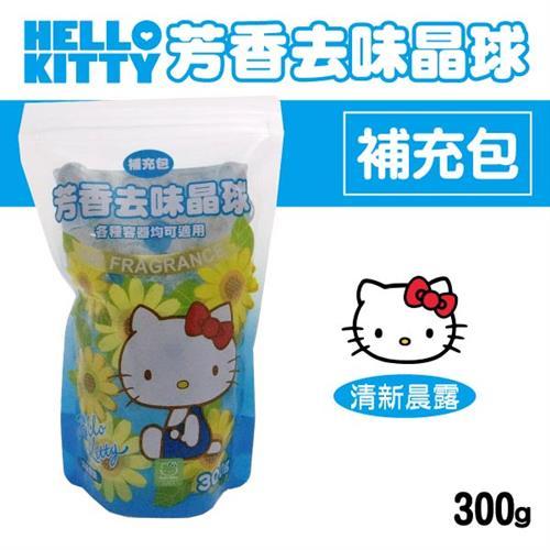 Hello Kitty 芳香去味晶球補充包 (清新晨露) 300gX6包