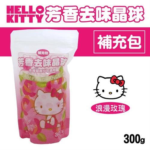 Hello Kitty 芳香去味晶球補充包 (浪漫玫瑰) 300gX6包