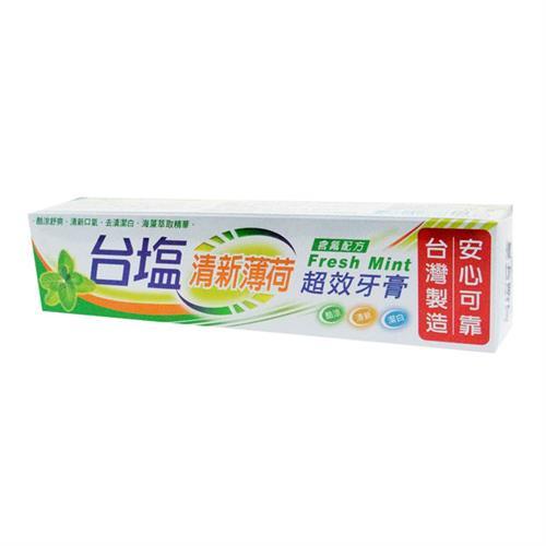 台鹽 清新薄荷超效牙膏140gX6支