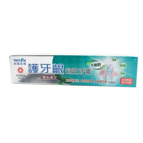 台鹽 護牙齦超效牙膏140gX6支