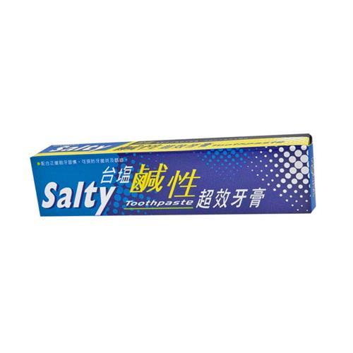 台鹽 鹹性超效牙膏150gX6支