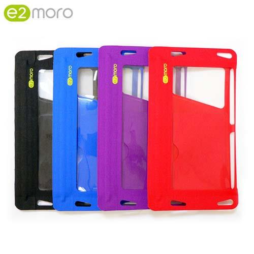 【e2moro】IPX8多功能手機防水袋(藍)01962-1