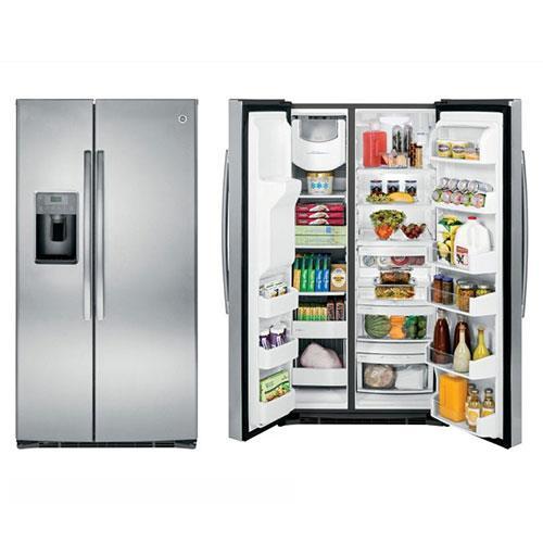 GE美國奇異 貴族733L對開門冰箱 GSE26HSSS 不鏽鋼色